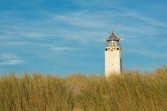 Leuchtturm Noordwijk, die Niederlande Stockfotografie