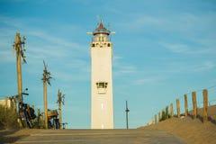 Leuchtturm Noordwijk, die Niederlande Lizenzfreie Stockfotografie