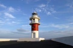 Leuchtturm, Nordspanien Lizenzfreies Stockfoto