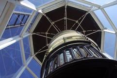 Leuchtturm-Objektiv Stockfoto