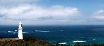 Leuchtturm-Panorama Stockbilder