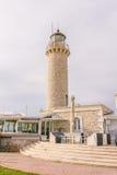 Leuchtturm Patras, Peloponnes, Griechenland lizenzfreie stockbilder