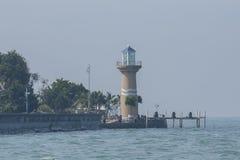 Leuchtturm in Pattaya Stockfotografie