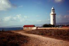 Leuchtturm in Phapos Stockfotografie