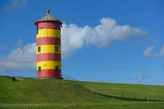 Leuchtturm Pilsum Stockbilder
