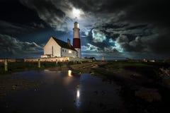 Leuchtturm Portland-Bill stockbild