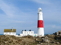 Leuchtturm Portland-Bill, Dorset Stockfotografie