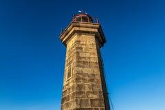 Leuchtturm in Porto Lizenzfreie Stockfotos