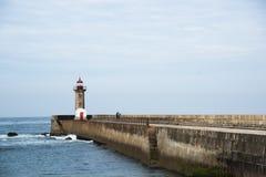 Leuchtturm Porto PÃ Stockfotografie