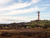 Leuchtturm Punta Rasca Lizenzfreie Stockbilder