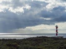 Leuchtturm Punta Rasca Stockfoto
