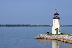 Leuchtturm-Reflexion Stockfotografie