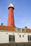 Leuchtturm Scheveningen, die Niederlande Stockbild