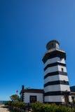 Leuchtturm in Sile, Istanbul, die Türkei Lizenzfreies Stockfoto
