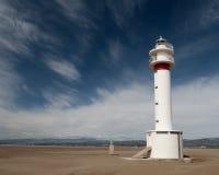 Leuchtturm in Spanien lizenzfreies stockfoto