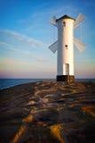 Leuchtturm in Swinoujscie Lizenzfreie Stockbilder