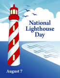 Leuchtturm-Tag Lizenzfreies Stockfoto