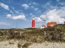 Leuchtturm Texel lizenzfreie stockbilder