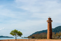 Leuchtturm Thailand Lizenzfreies Stockfoto
