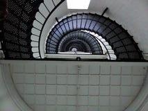 Leuchtturm-Treppenhausschacht Stockbild