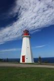 Leuchtturm-Umhang George Neuschottland Lizenzfreie Stockfotos