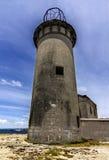 Leuchtturm und blauer Himmel Lizenzfreies Stockfoto