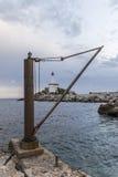 Leuchtturm und Wasser Lizenzfreies Stockbild