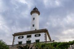 Leuchtturm und Wasser Lizenzfreie Stockfotografie