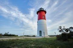 Leuchtturm und Wolken Lizenzfreie Stockfotografie