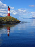 Leuchtturm Ushuaia Argentinien Stockbild