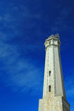 Leuchtturm von Alcatraz Insel stockfotos