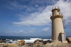 Leuchtturm von Muxia, Costa-DA morte stockfotos