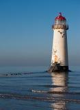 Leuchtturm in Wales Lizenzfreie Stockfotografie
