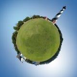 Leuchtturm-Welt Stockfoto