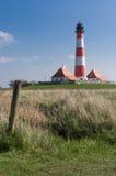 Leuchtturm Westerhever Lizenzfreie Stockbilder