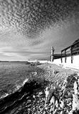 Leuchtturm in Zadar. Kroatien. lizenzfreie stockfotografie