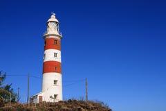 Leuchtturm an Zusatzhöhlen Pointe, Mauritius Lizenzfreie Stockbilder