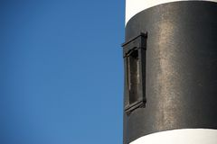 Leuchtturmfenster stockbild