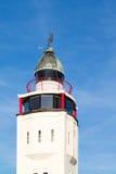 Leuchtturmhotel in der alten Stadt von Harlingen, die Niederlande Stockfotografie