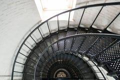 Leuchtturminnenraum Str.-Augustine Lizenzfreie Stockfotografie