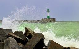 Leuchtturminsel rà ¼ GEN Lizenzfreies Stockfoto