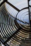 Leuchtturmlampenobjektiv Stockbild