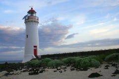 Leuchtturmlandschaft stockfotos