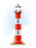 Leuchtturmmarinesignal Stockfoto