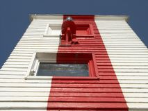 Leuchtturmnahaufnahme Lizenzfreies Stockfoto