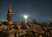 Leuchtturmsterne Lizenzfreie Stockbilder