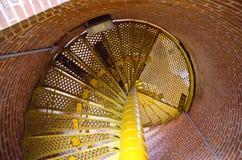Leuchtturmtreppe Stockfotos