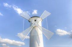 Leuchtturmwindmühle Lizenzfreie Stockfotos