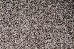 Leucite small gravel texture background. Horizontal photo of small rocks with specific colors and qualities stock images