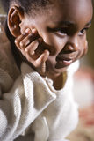 Leuk 4 éénjarigenmeisje Royalty-vrije Stock Foto's